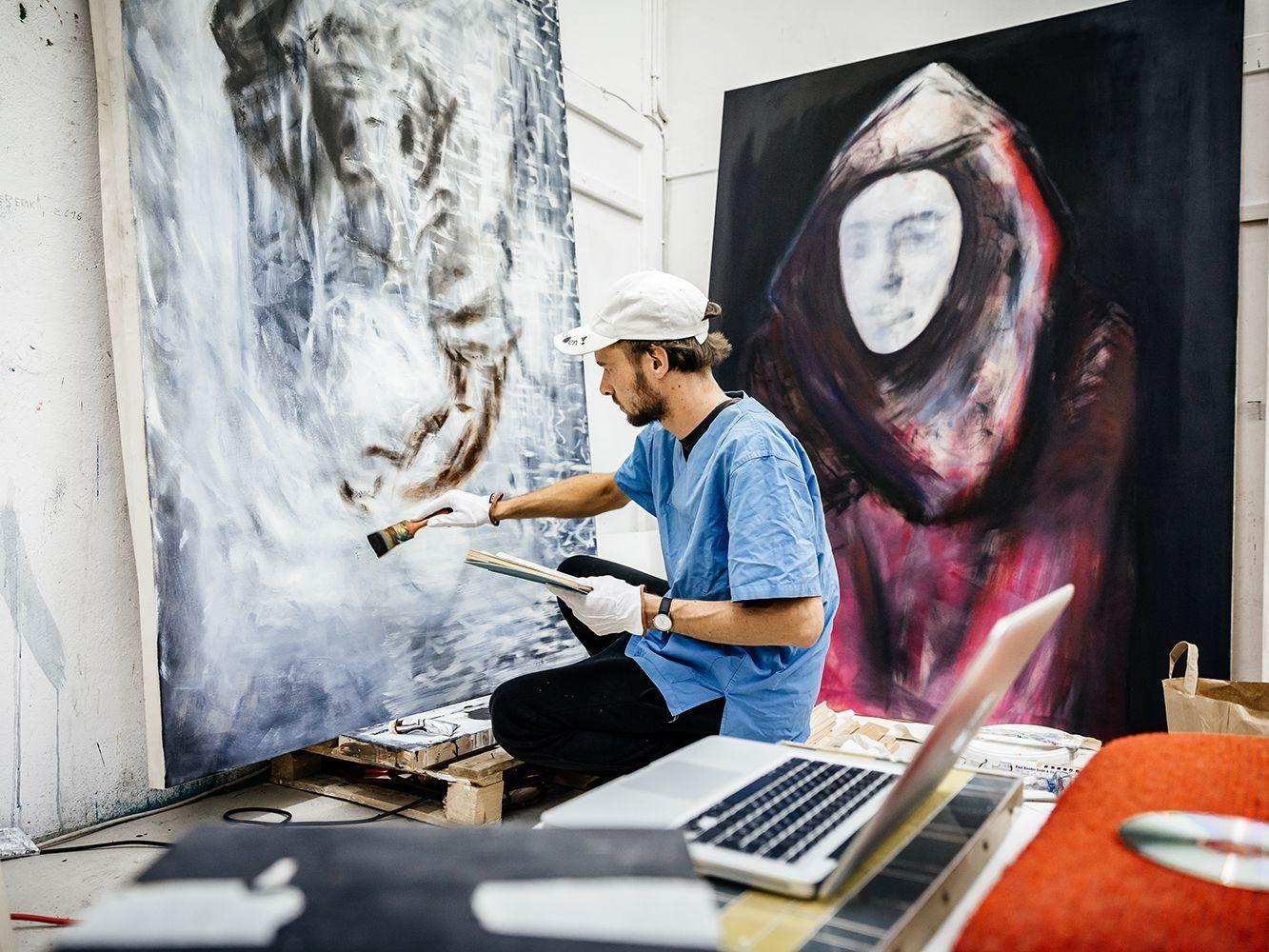 How the Kosovo-Born Artist Pajtim Osmanaj Parlayed His